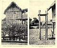 Salako and palaan, ceremonial altars among the Itneg people (1922, Philippines).jpg