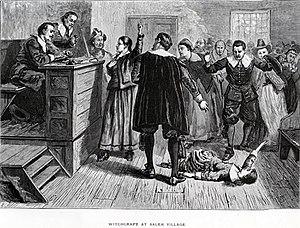 Martha Carrier M Witch Trials