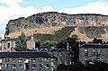 Salisbury Crags from St Leonard's, Edinburgh Southside - geograph.org.uk - 1596528.jpg
