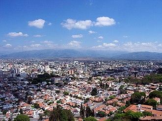 Capital Department, Salta - View of Salta, department's Capital