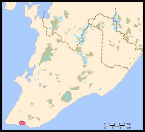 Ondina, Salvador - Location of Ondina.