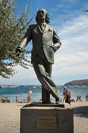 Salvador Dali - Statue - Cadaques - Spain