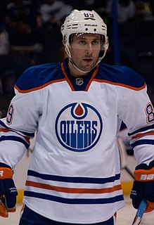 Sam Gagner Canadian ice hockey player