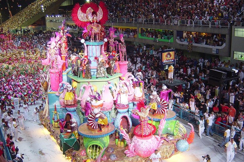 Samba school parades 2004