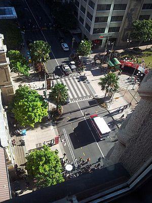 San Andreas (film) - Second unit filming in Brisbane, Queensland, Australia on June 22, 2014