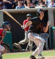 San Jose Giants - Jarrett Parker 10-Apr-2011.jpg