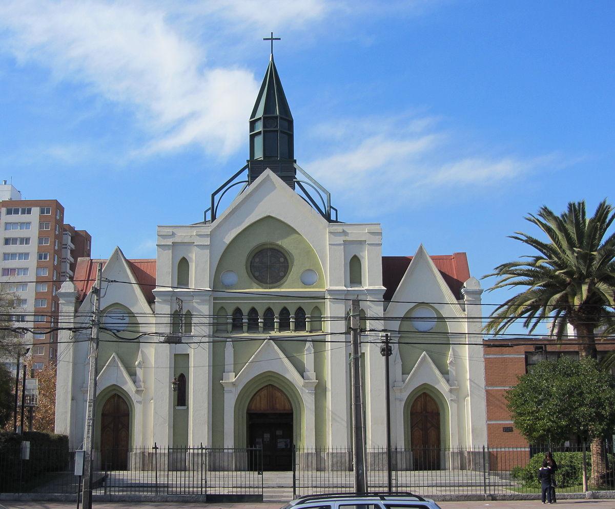Iglesia de San Miguel Arcángel (Santiago de Chile) - Wikipedia, la encicloped...