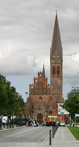 St. Alban's Church, Odense - Image: Sankt Albani kirke Odense