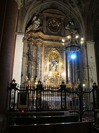 Angelo Piò - Interior of the Basilica di Santa Maria dei Servi in Bologna