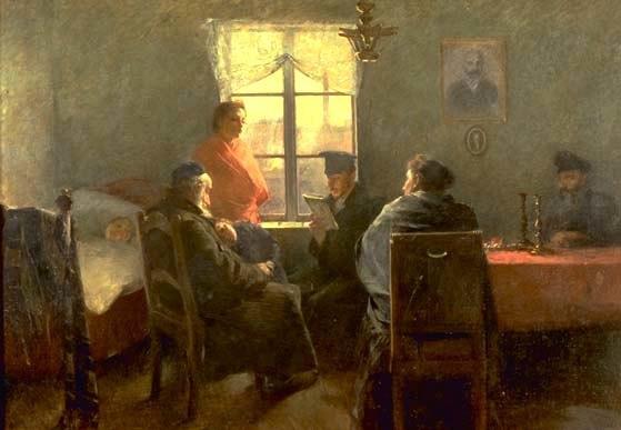 Sanuel Hirszenberg The Sabbath Rest
