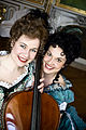 Sara Silvmark and Madeleine Barringer 2008.jpg