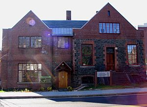 Trudeau Institute - Saranac Laboratory, precursor to the Trudeau Institute. Presently the home of Historic Saranac Lake, a local nonprofit, historic preservation organization