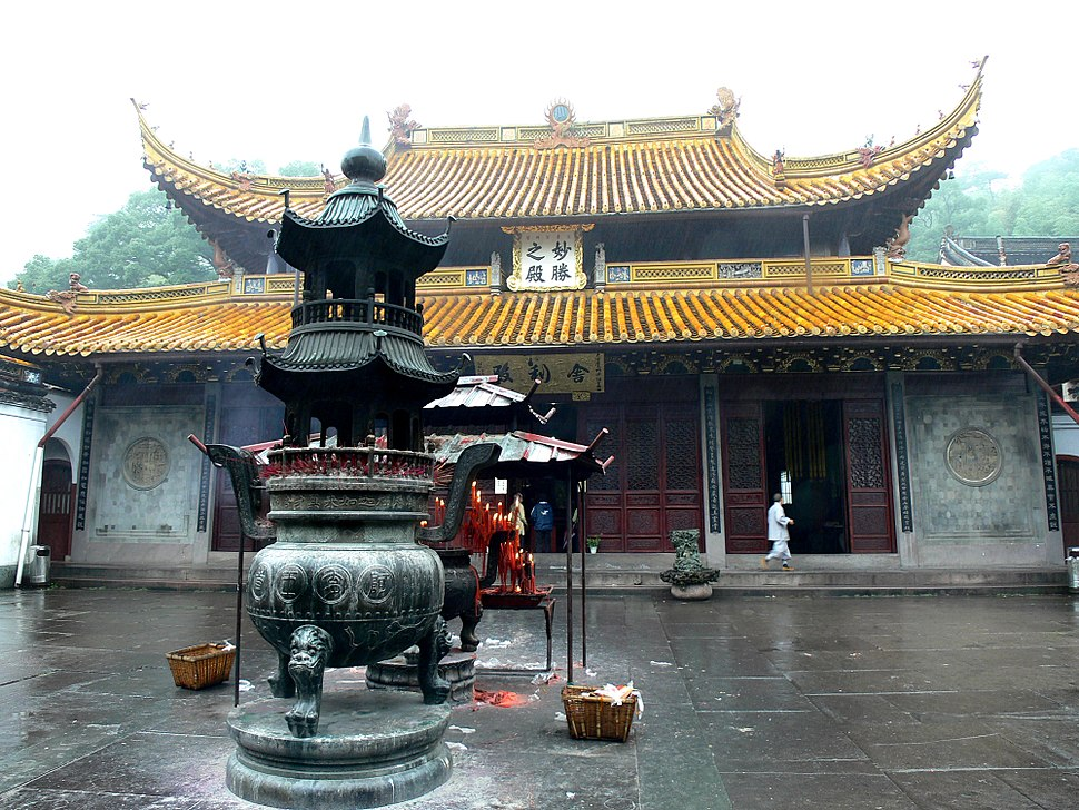 Sarira Hall of Ashoka Temple in Ningbo