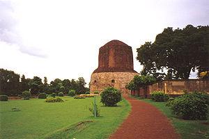 The Dhamekh Stupa, Sarnath