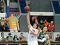 Sasha Kaun vs Maciej Lampe at all-star PBL game 2011.JPG