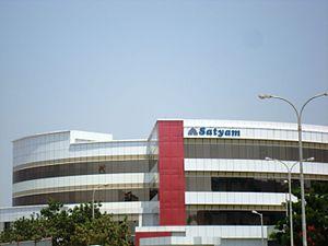 Tech Mahindra - Image: Satyam hyd