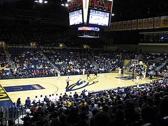 Savage Arena - Interior of Savage Arena in 2012
