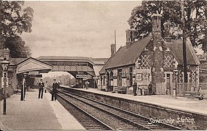 Savernake Low Level railway station - Image: Savernake Low Level Station