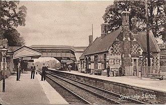 Savernake Low Level railway station - Image: Savernake Low Level Station