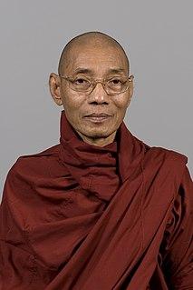Burmese Buddhist monk