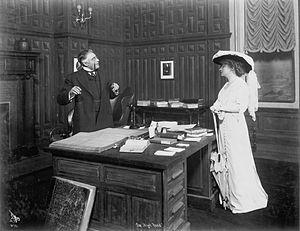 Edward Sheldon - Minnie Maddern Fiske and Frederick Perry in The High Road (1912)