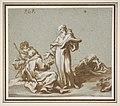Scene with Four Figures of Monks Discoursing MET DP811160.jpg