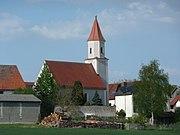 Schelldorf Kirche von SW