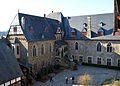Schloss Burg, Palas, Ansicht von Schildmauerbruecke.jpg