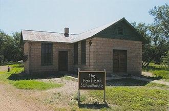Fairbank, Arizona - Image: Schoolhouse Fairbank Arizona 2014