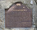 Schramsberg Vineyards, historical landmark sign.jpg