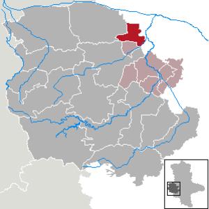 Schwanebeck - Image: Schwanebeck in HZ