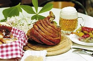 Ham hock - Image: Schweizerhaus 04