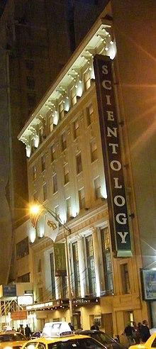Church of scientology celebrity center new york