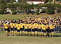 Scots 1st XV singing Auld Lang Syne After A Game Against Joeys.jpg
