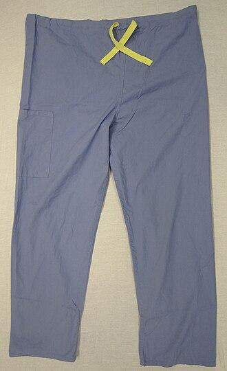 Scrubs (clothing) - Scrub trousers