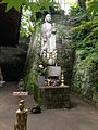 Sculpture of Mizuko-Kannon in Nyoirinji Temple.jpg