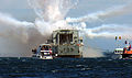 Scuttling HMNZS Wellington, Island Bay, Wellington.jpg
