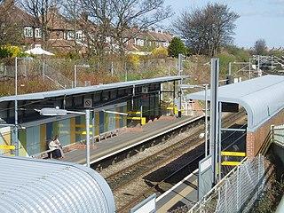Seaburn Metro station Tyne and Wear Metro station in Sunderland
