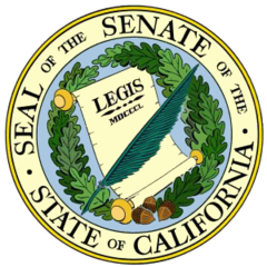 Resultado de imagen para escudo senado de california