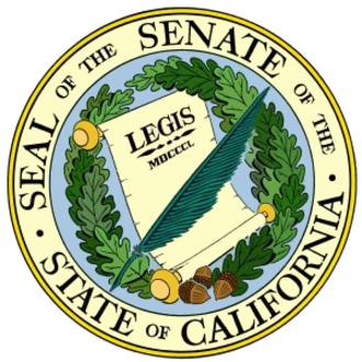 California State Senate - Image: Seal of the Senate of the State of California