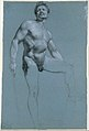Seated Female Nude (recto); Standing Male Nude (verso) MET DT10964.jpg