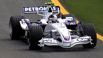Sebastian Vettel - Vettel during practice at the 2006 Brazilian Grand Prix for BMW Sauber