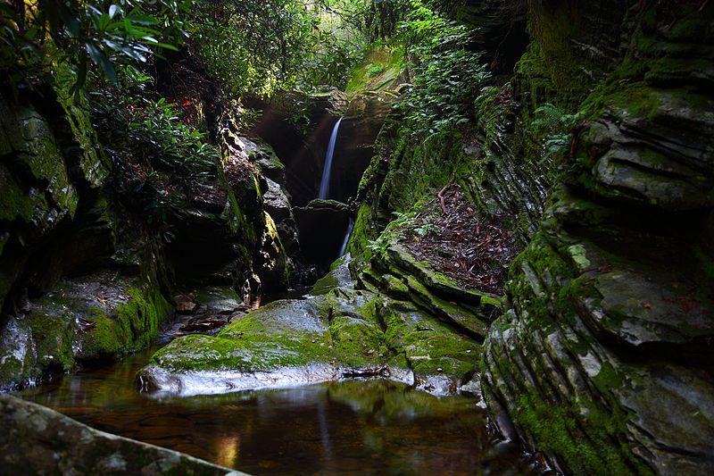 File:Secret-waterfalls-heavenly-sunbeam - Virginia - ForestWander.jpg