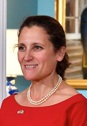 Chrystia Freeland - Chrystia Freeland Headshot