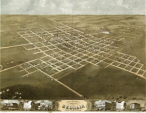 Sedalia, Missouri - Sedalia in 1869