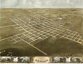 Sedalia, Missouri - Sedalia in 1869