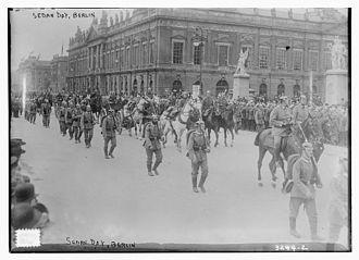 Sedantag - Sedantag in Berlin in 1914