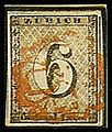 Selo postal, Zurique, 1843.jpg
