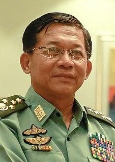 Min Aung Hlaing Burmese general