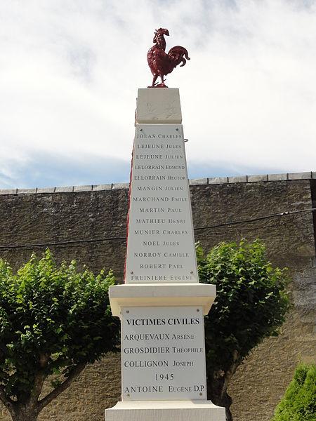 Senon (Meuse) monument aux morts